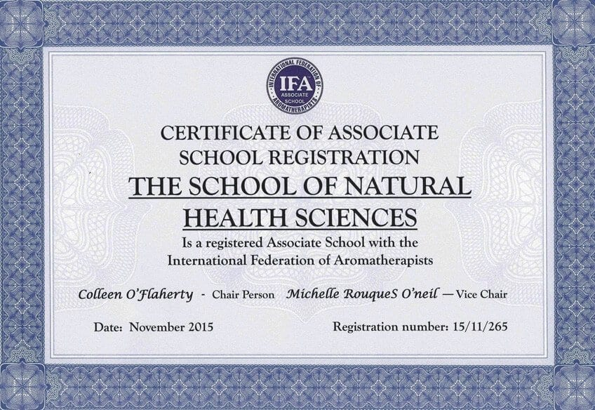 IFA Associated School Certificate