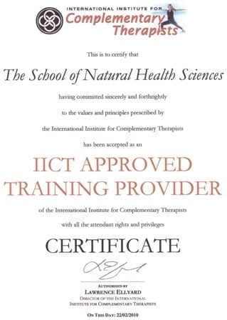 IICT approved