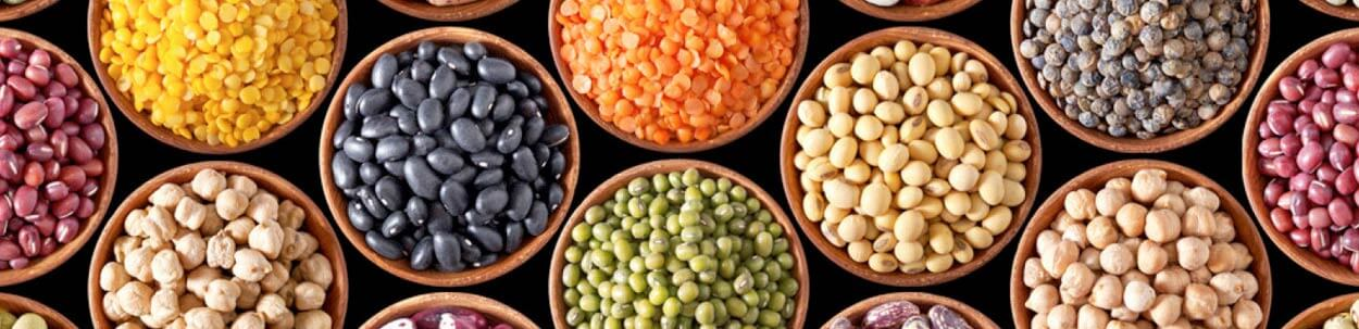 types of beans and lentils