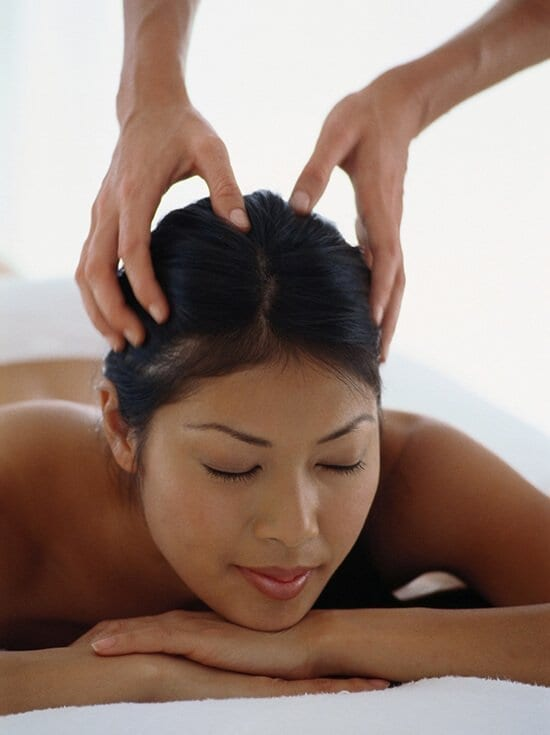 Indian Head Massage courses at The School of Natural Health Sciences