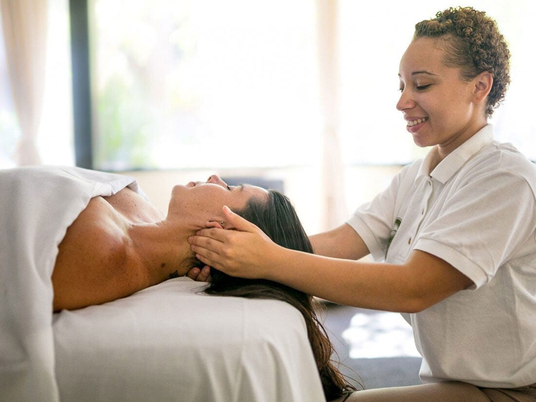 When you learn how to give a holistic treatment, you first learn yourself