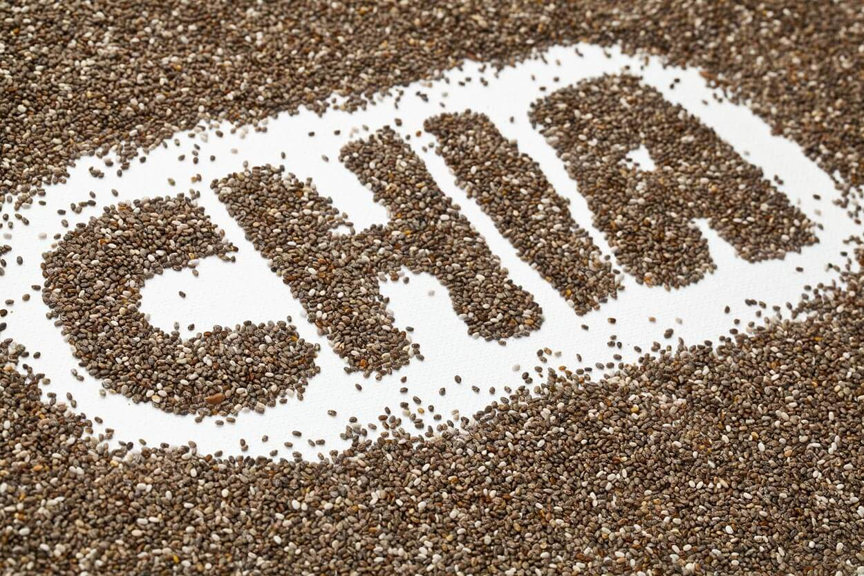 Chia Seeds - Top 12 foods for a clear complexion
