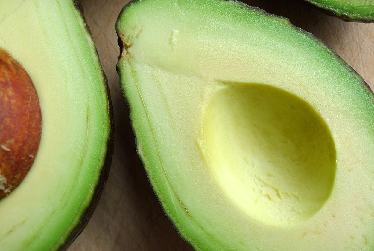 Avocado - Top 12 foods for a clear complexion