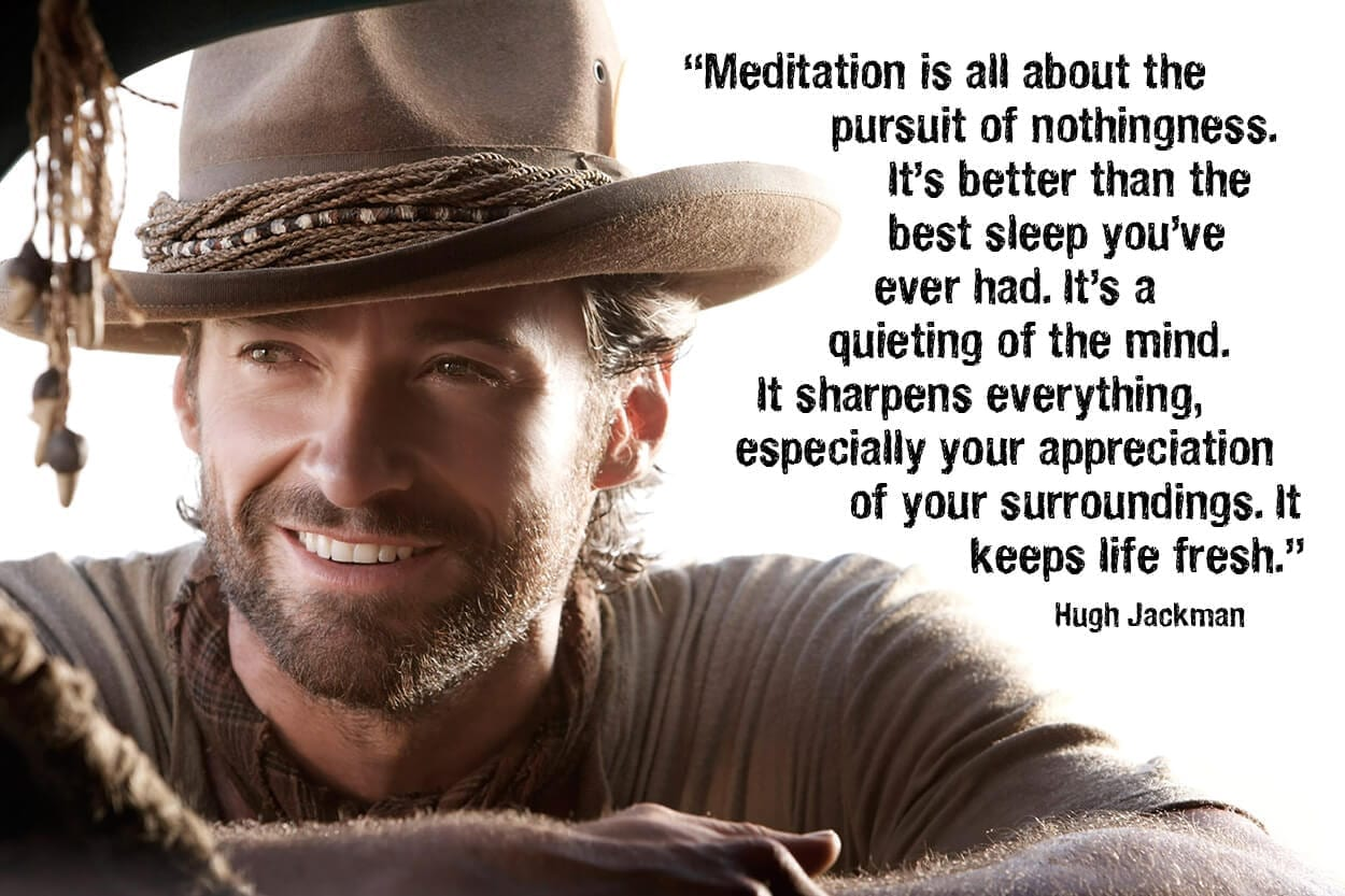 How do you take your daily dose of meditation?