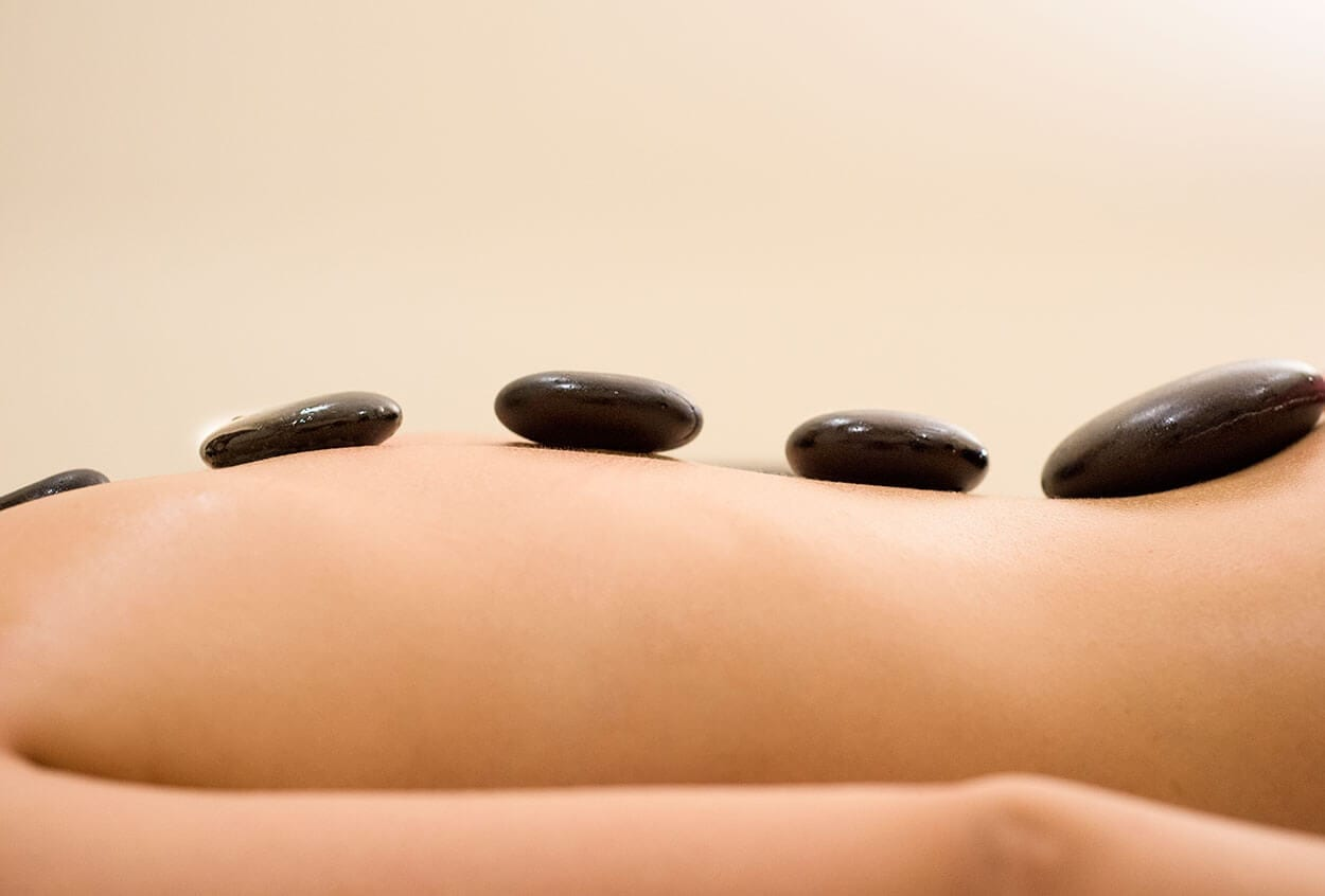 Get yourself some Hot Stone Therapy!