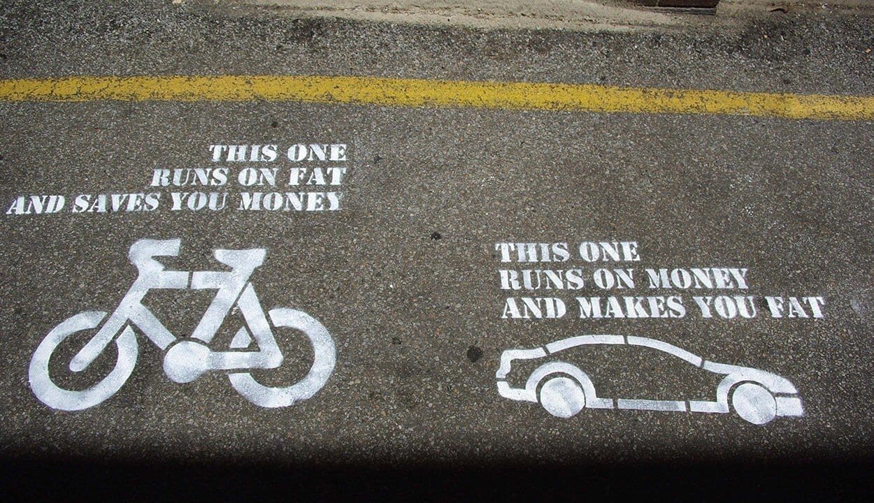 Get on your bike! - 5 simple tips to reduce your carbon footprint