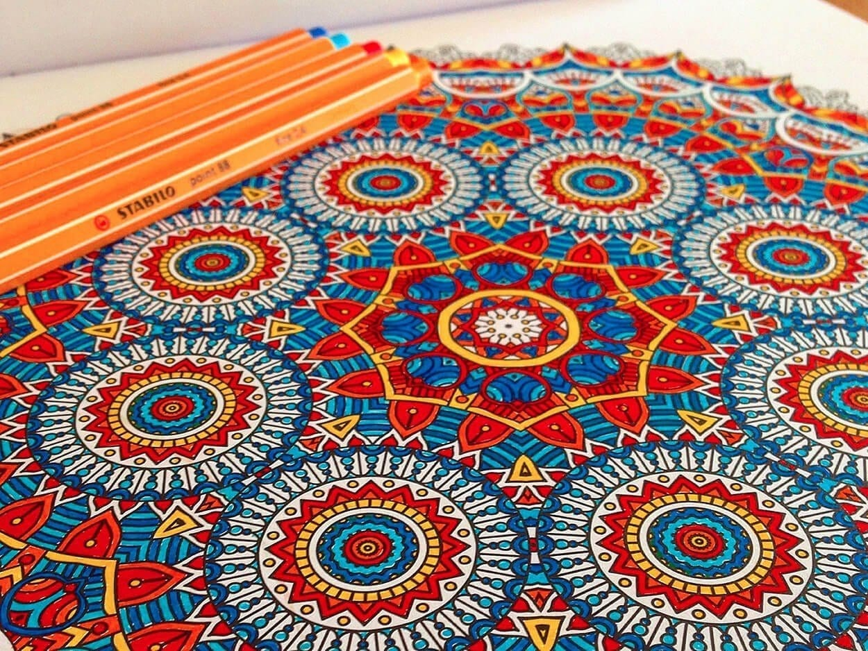Zen colouring in book - Grown Up Colouring In Books To Top Grown Up Coloring Books