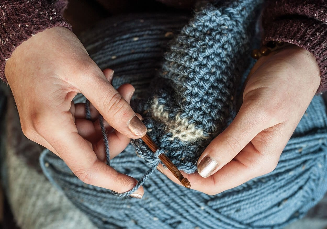 Crocheting Relieves Stress : Crochet - Top trending crafts for stress relief