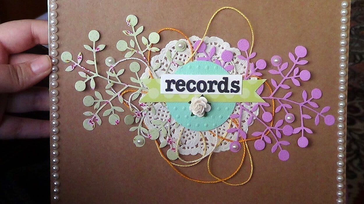 Scrap-booking - Top trending crafts for stress relief