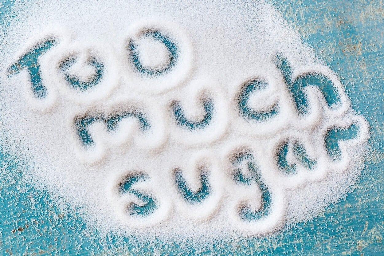 too much sugar