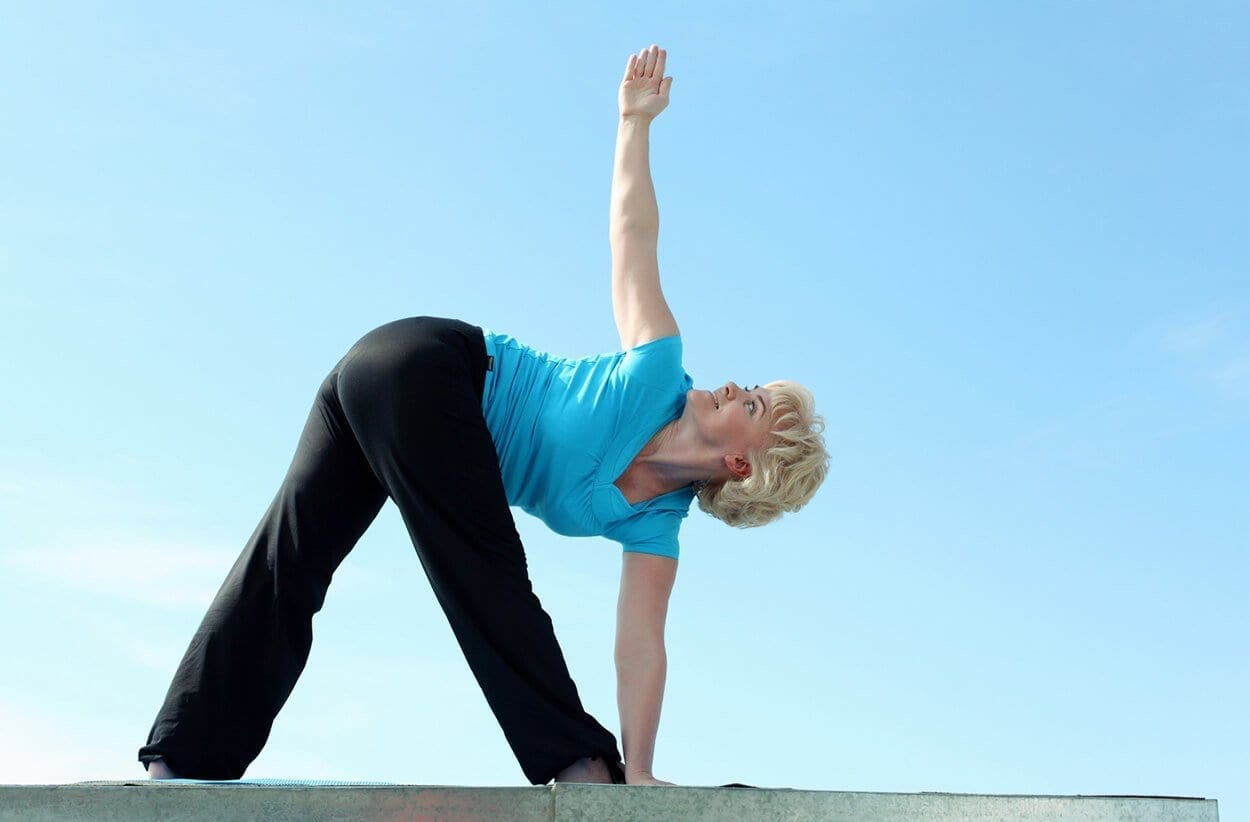 Yoga positions for menopause