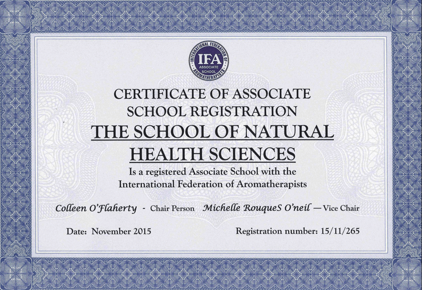 Presenting our IFA certified Aromatherapy courses