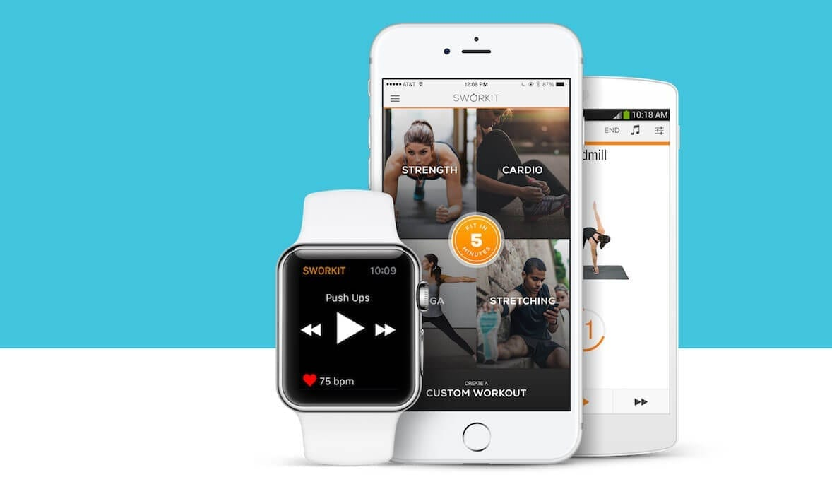 SworkIt - A great app to keep your health on track