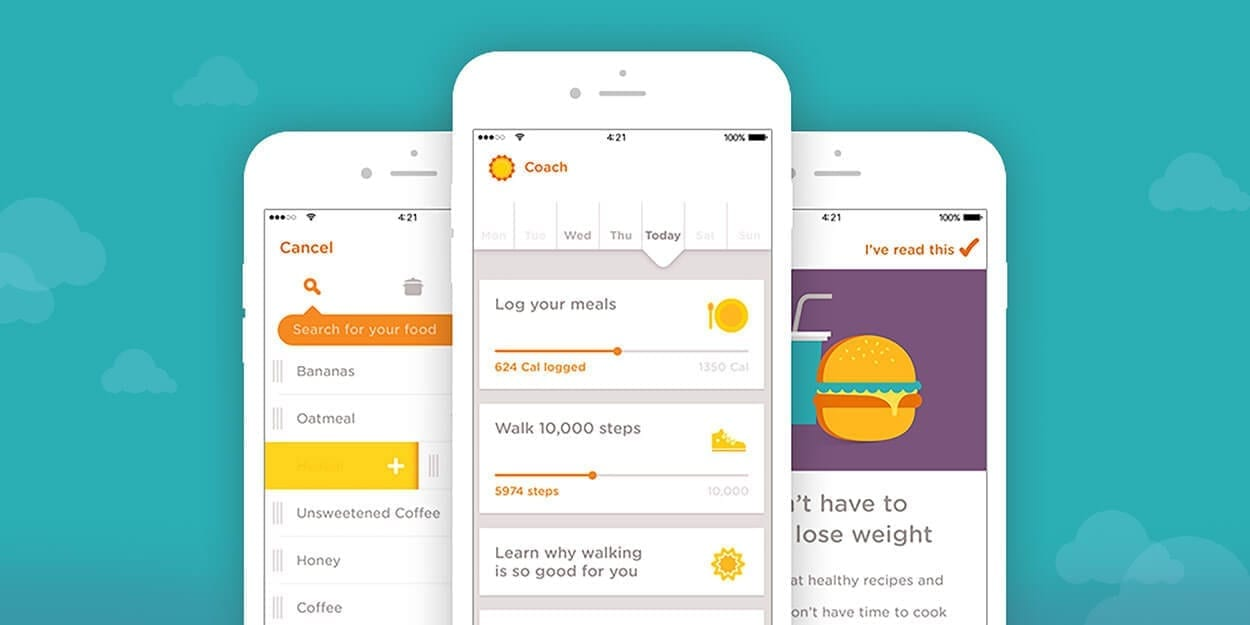 Noon Coach - A great app to keep your health on track