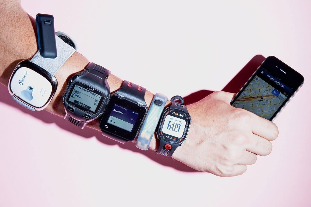 Wearable tech - Top 5 Exercise Trends for 2016
