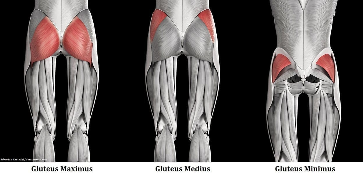 Stretch out your glutes