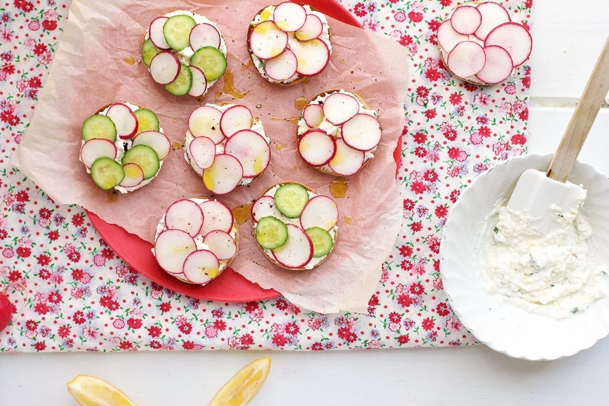Serve with 2 bunches radishes (about 16; trimmed).