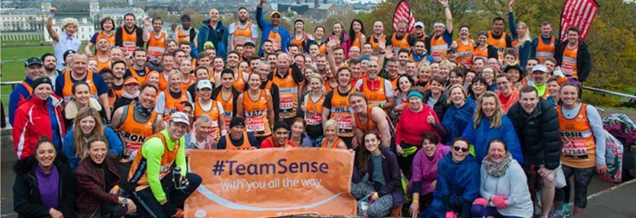 Donna Bibby London Marathon Sense Team 2016