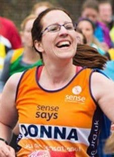 Donna Bibby London Marathon 2016