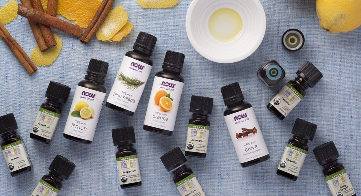 Get energised with essential oils!