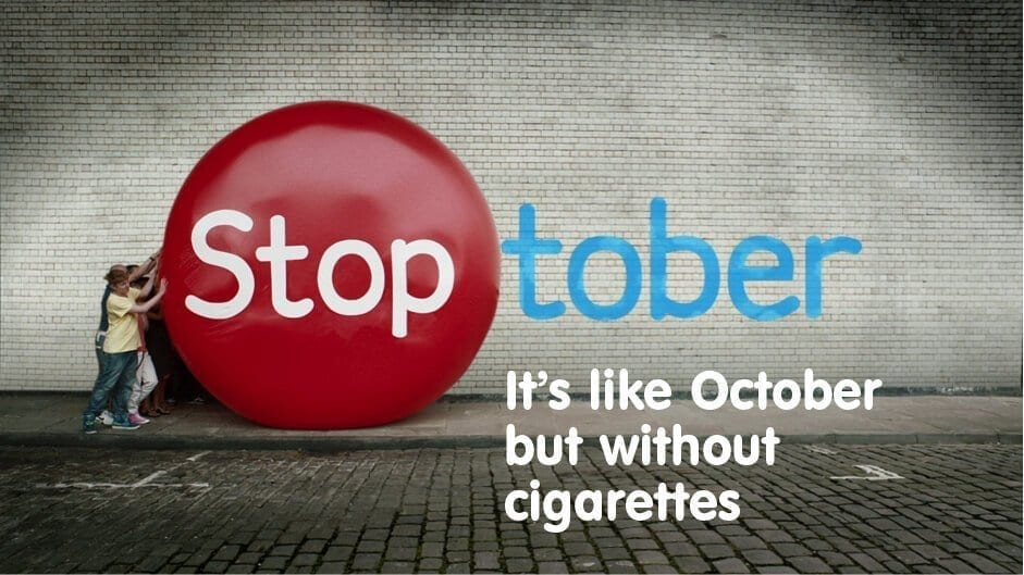 october without cigarettes poster