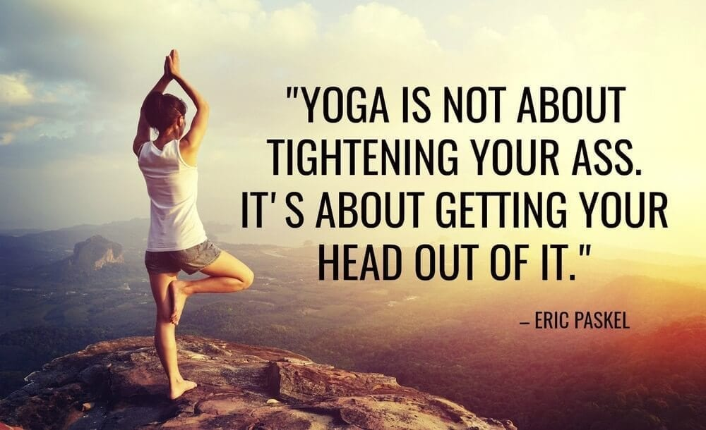 yoga quote banner