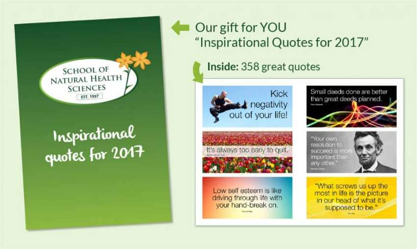 Inspirational quotes gift