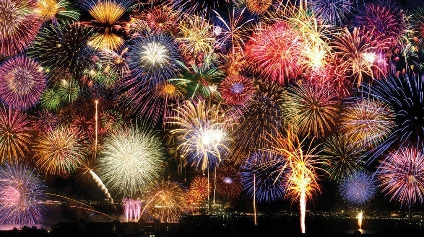 snhs new year fireworks