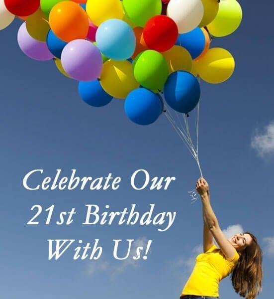 SNHS 21st Birthday
