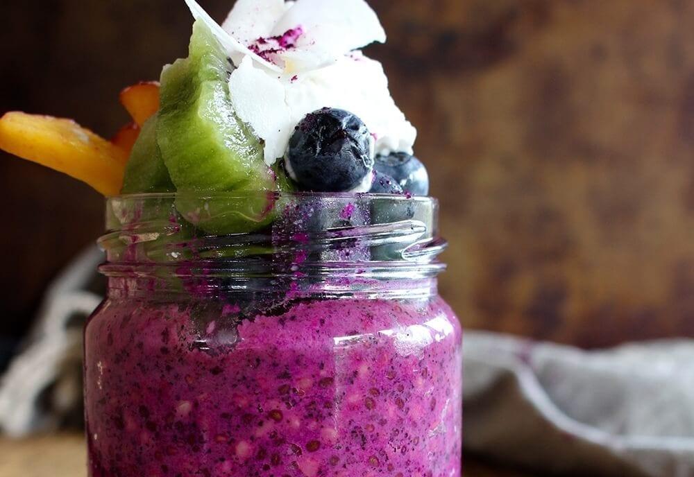 acai fruit jar