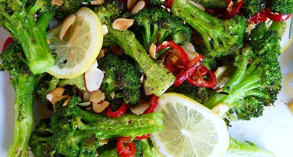 brocolli with chilli
