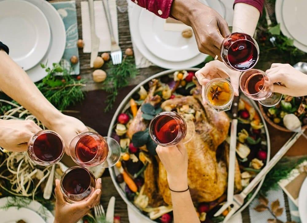 thanksgiving dinner toast