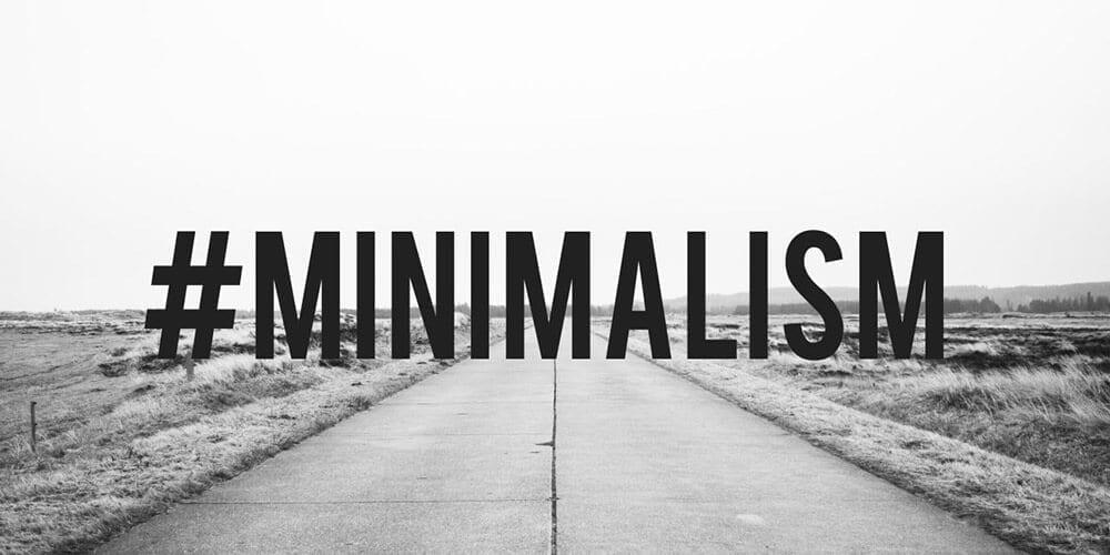 minimalistic living