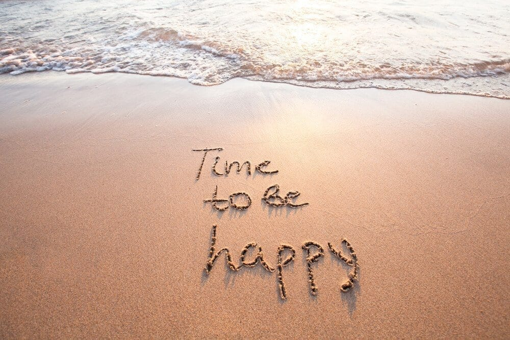 time to be happy banner