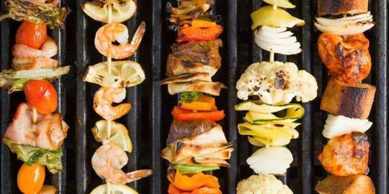 healthy kebabs